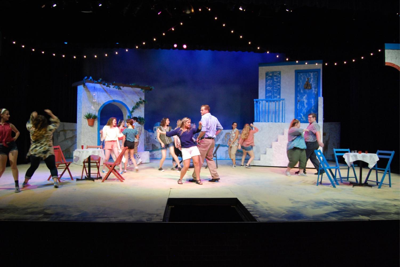 Mamma Mia! Cast performing