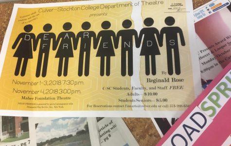 """""""Dear Friends"""" comes to Culver-Stockton College"""