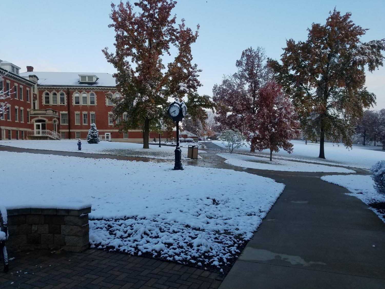 recent snow at C-SC