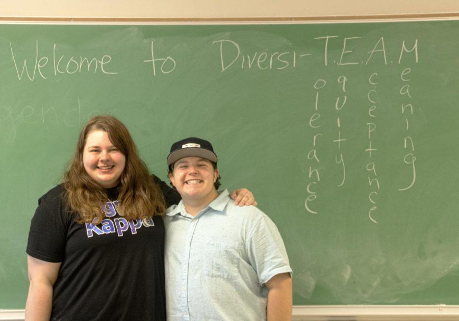 The President and Vice-President of Diversi-T.E.A.M.