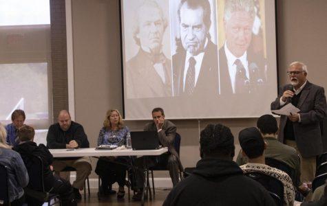 Professors Host Impeachment Panel ACE Event