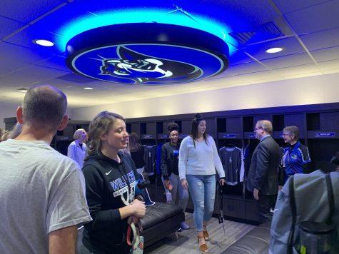 Women's Locker Room Dedication