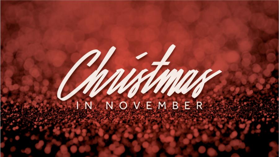 Does Christmas Start in November?