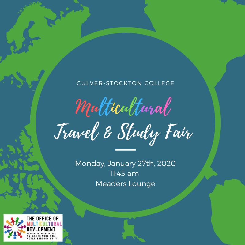 Multicultural Travel & Study Fair