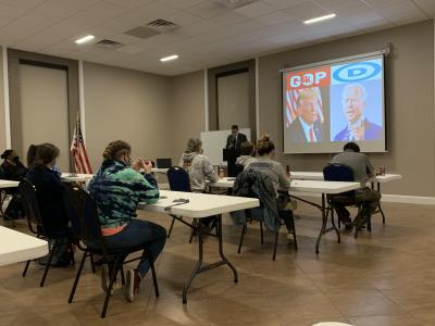 A Winner? Debatable. Debate Watches Begin at Culver-Stockton College