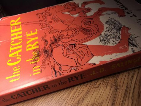 "A copy of ""The Catcher in the Rye"""