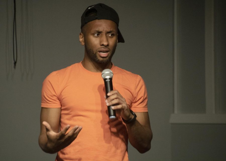 Comedian Anthony Moore